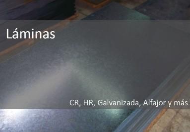 láminas CR, HR y más
