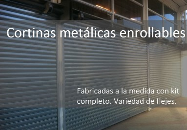 Cortinas metalicas enrollables en Cali